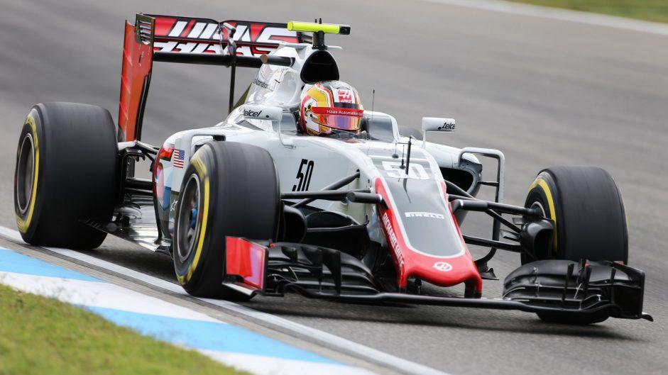 Charles Leclerc, Haas, Hockenheimring, 2016