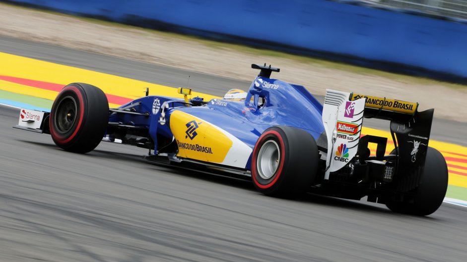 Marcus Ericsson, Sauber, Hockenheimring, 2016