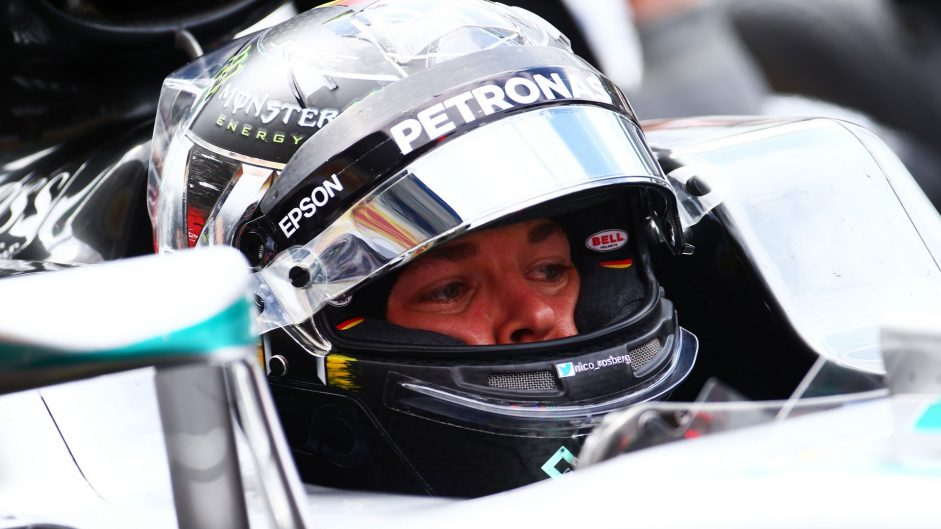 Nico Rosberg, Mercedes, Hockenheimring, 2016