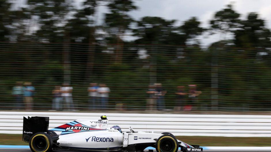 Valtteri Bottas, Williams, Hockenheimring, 2016