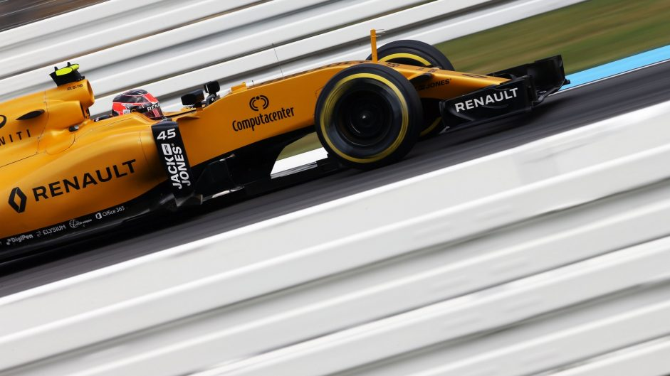 Esteban Ocon, Renault, Hockenheimring, 2016
