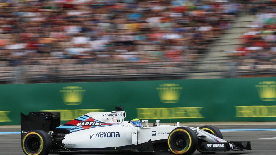 Felipe Massa, Williams, Hockenheimring, 2016