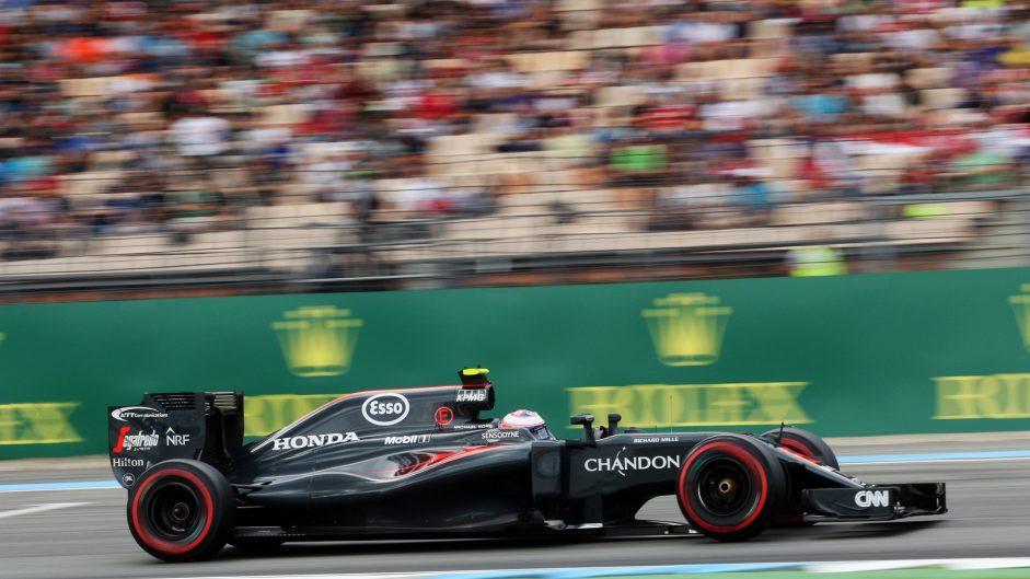 Jenson Button, McLaren, Hockenheimring, 2016