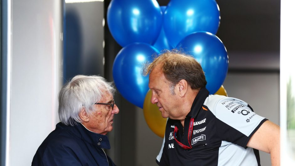 Bernie Ecclestone, Bob Fernely, Hockenheimring, 2016