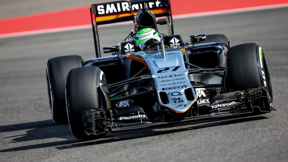 Hulkenberg receives one-place grid penalty