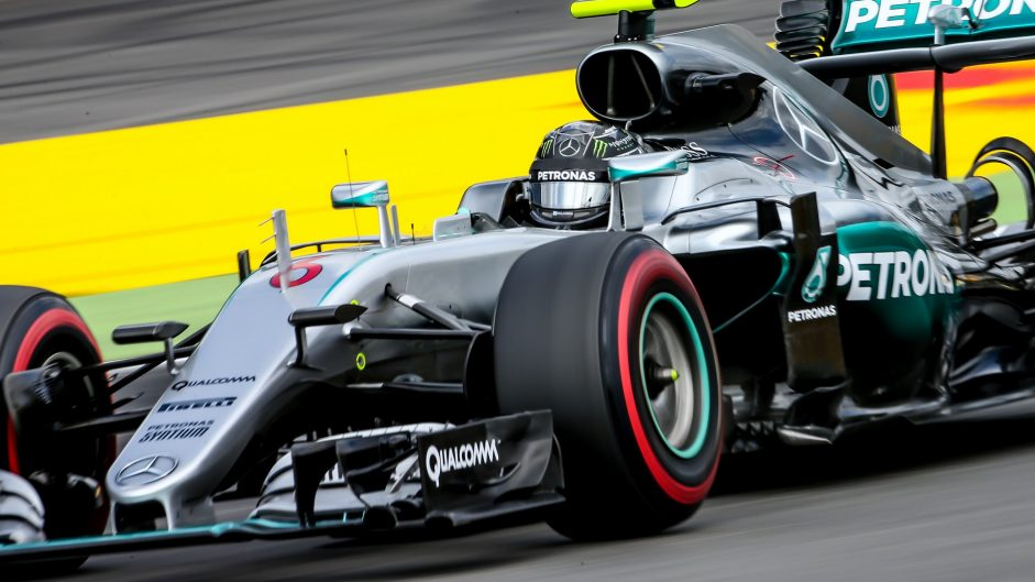 Rosberg remains on top at home