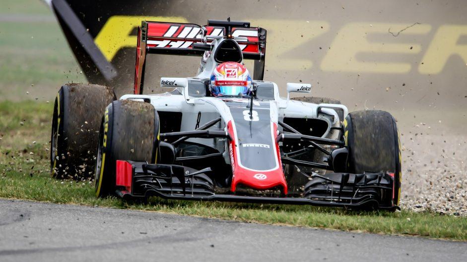 Romain Grosjean, Haas, Hockenheimring, 2016