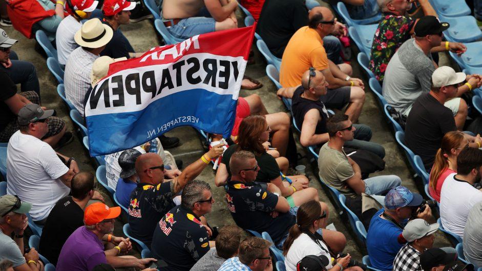 Max Verstappen fans, Red Bull, Hockenheimring, 2016