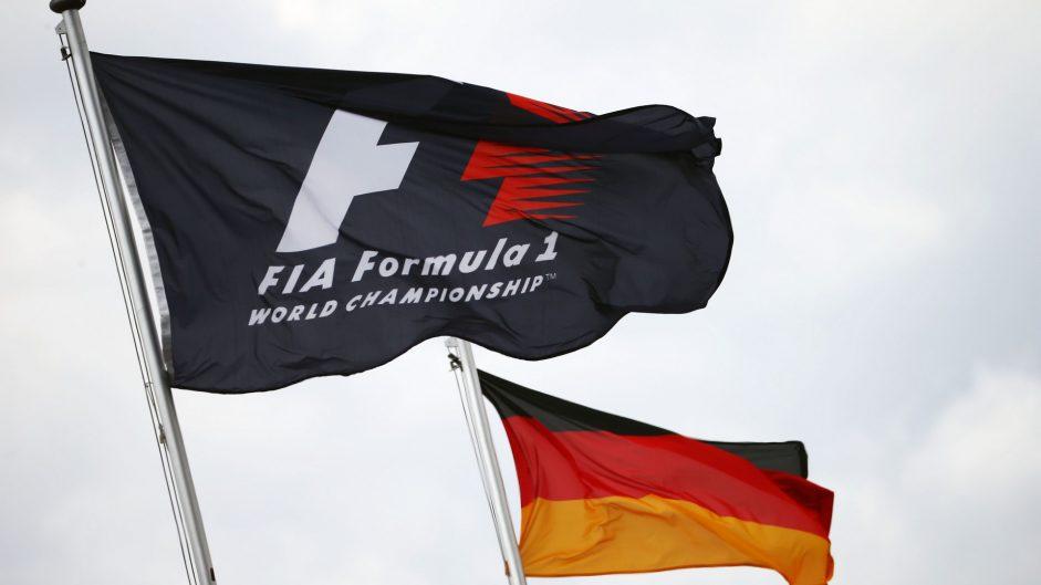 Flags, Hockenheimring, 2016