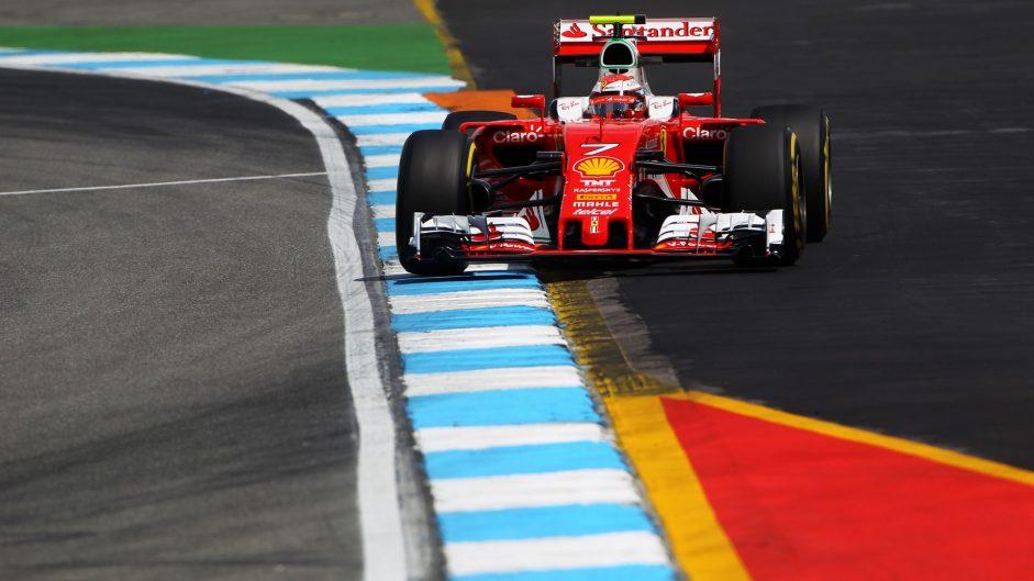 Kimi Raikkonen, Ferrari, Hockenheimring, 2016