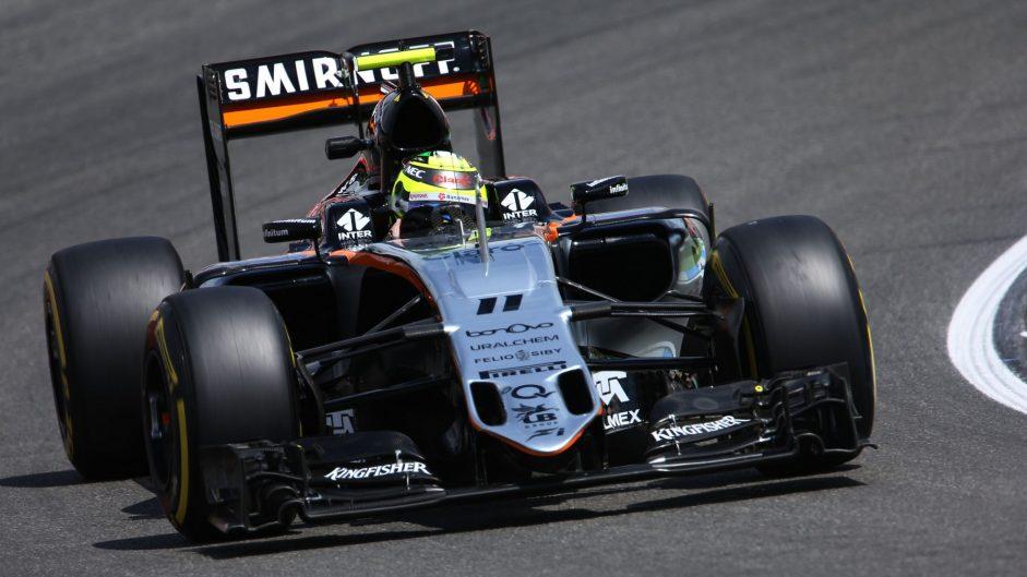 Sergio Perez, Force India, Hockenheimring, 2016