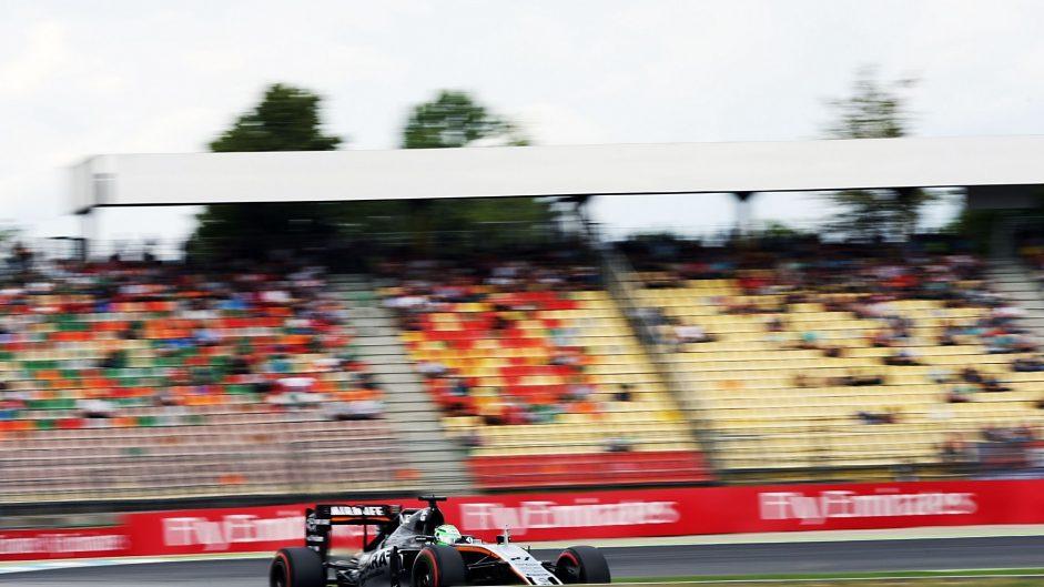 Nico Hulkenberg, Force India, Hockenheimring, 2016