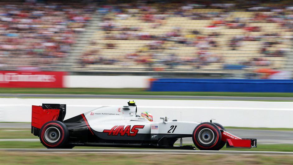 Esteban Gutierrez, Haas, Hockenheimring, 2016