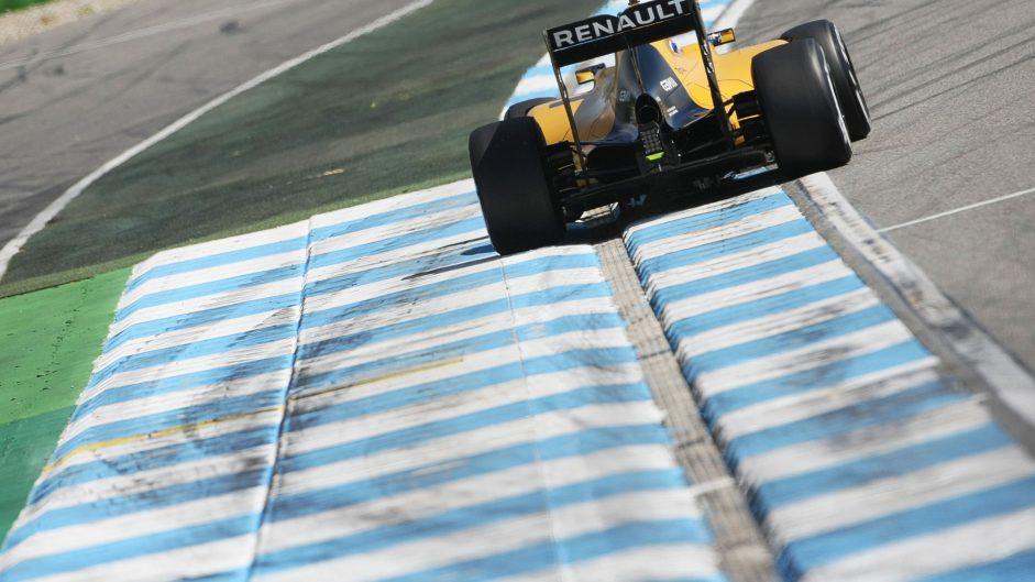 Jolyon Palmer, Renault, Hockenheimring, 2016