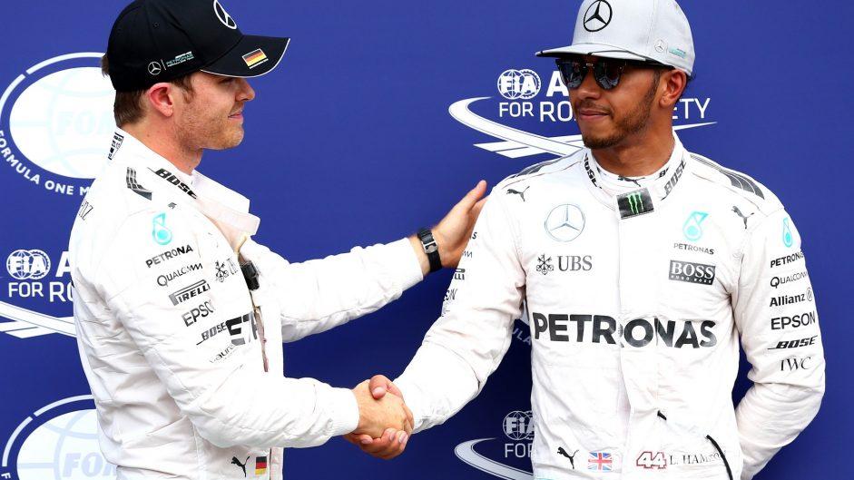 Nico Rosberg, Lewis Hamilton, Mercedes, Hockenheimring, 2016