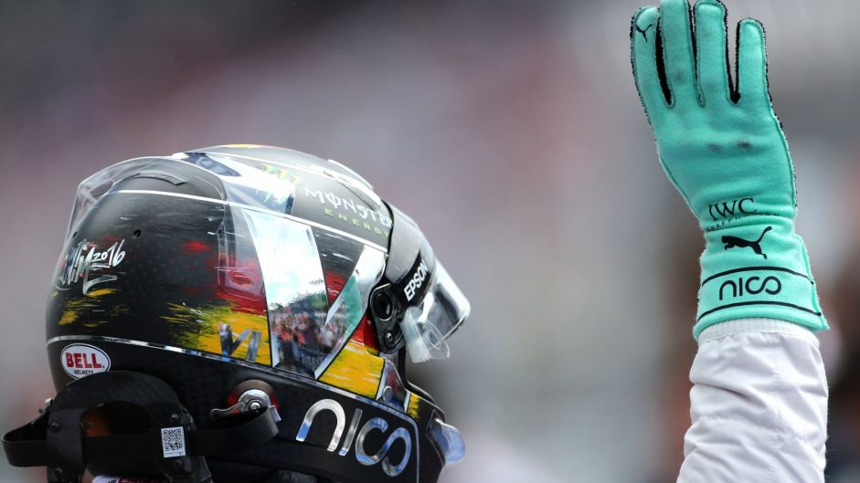 Rosberg overcomes setback for home pole