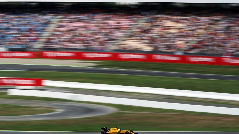 Kevin Magnussen, Renault, Hockenheimring, 2016