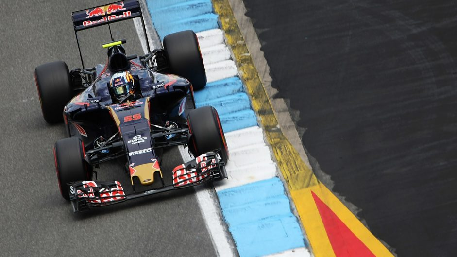 Carlos Sainz Jnr, Toro Rosso, Hockenheimring, 2016