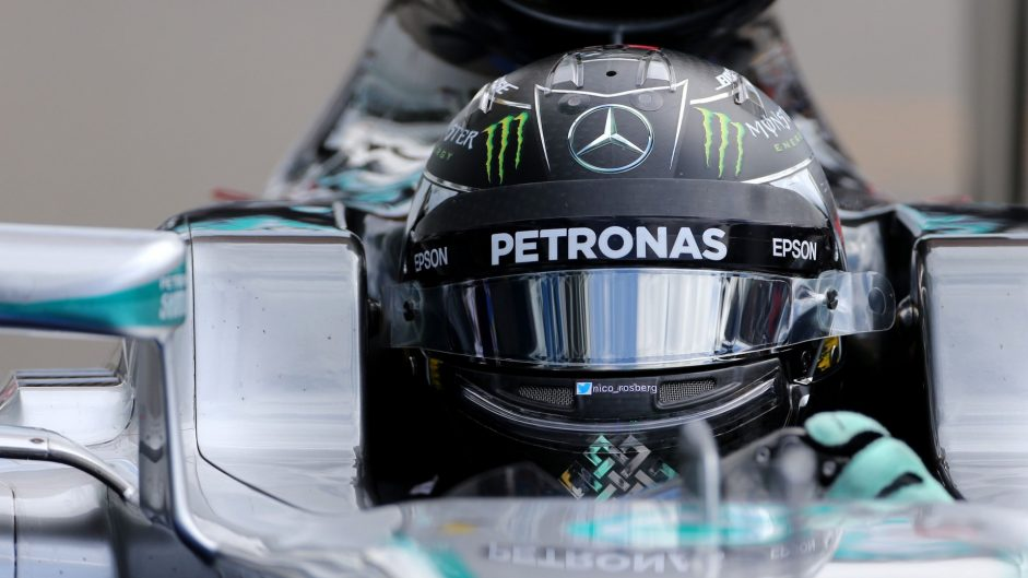 Rosberg leads the way for Mercedes in first practice