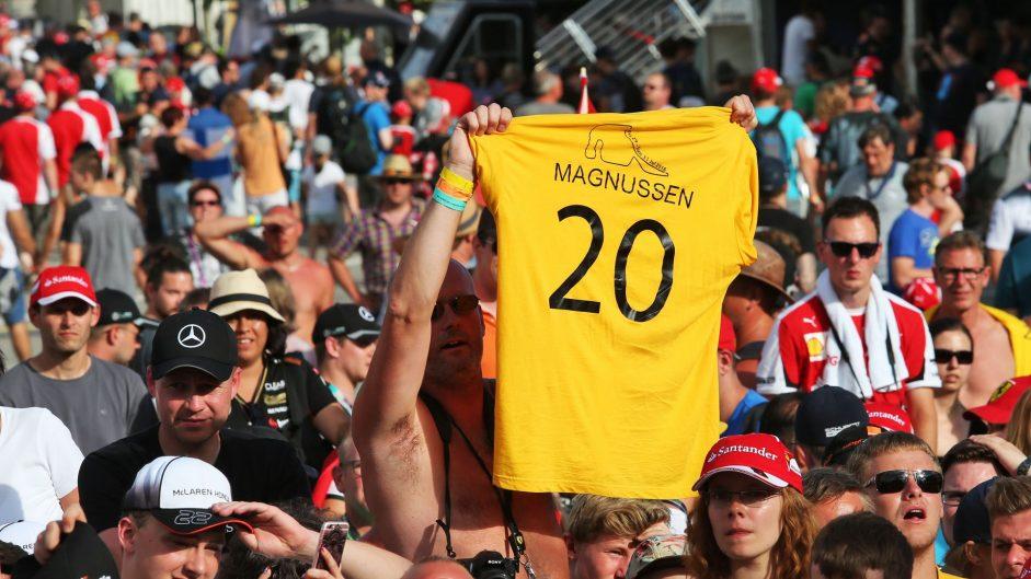 Kevin Magnussen fan, Renault, Hockenheimring, 2016