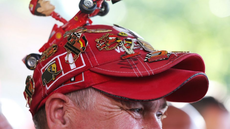 Fan, Hockenheimring, 2016