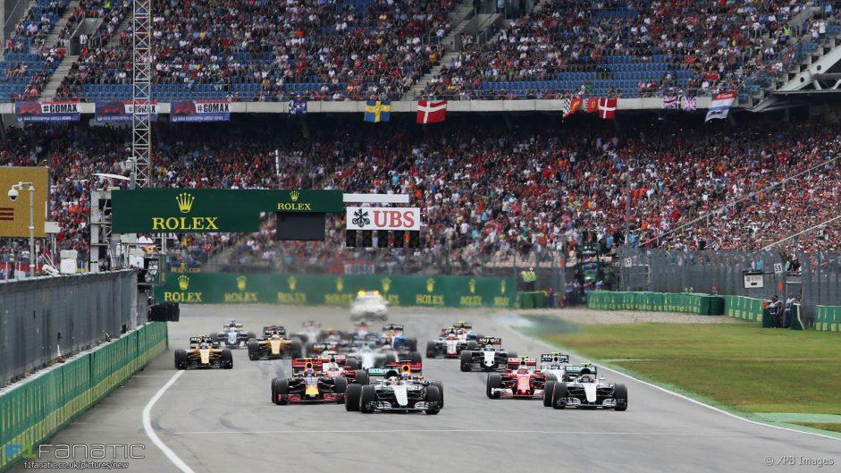 2016 German Grand Prix weekend driver ratings