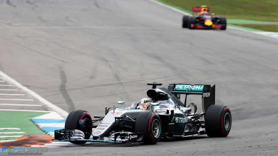 2016 German Grand Prix race result