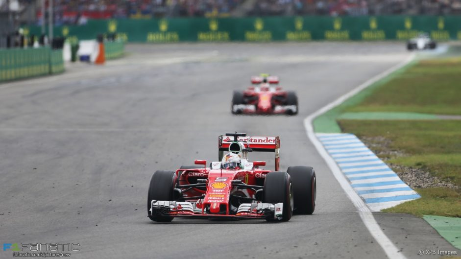 2016 German Grand Prix team radio transcript