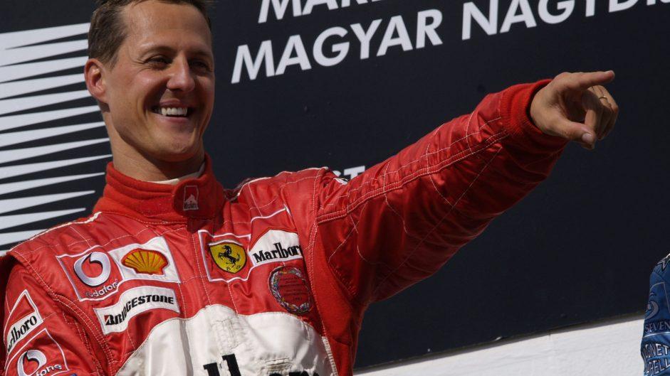 Schumacher's Hungary record falls to Hamilton