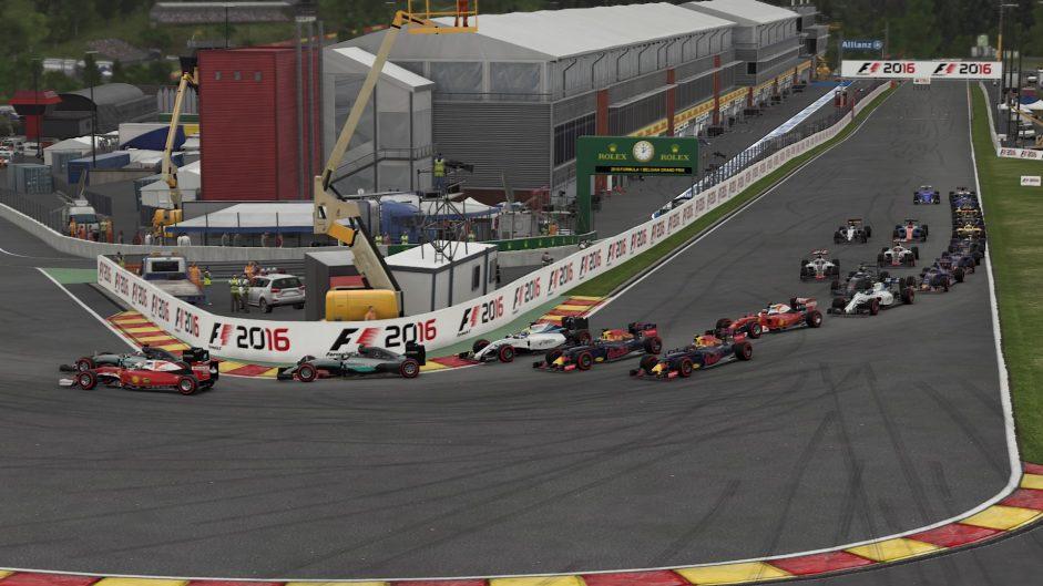 Codemasters F1 2016 screenshot