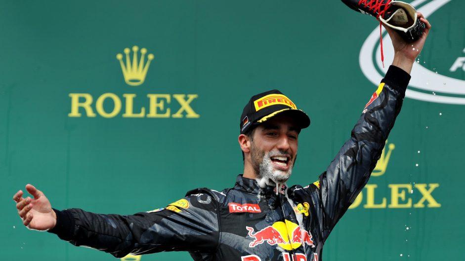 Daniel Ricciardo, Red Bull, Hockenheimring, 2016