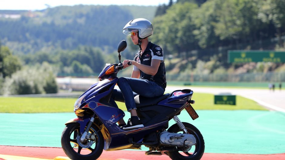 Daniil Kvyat, Toro Rosso, Spa-Francorchamps, 2016