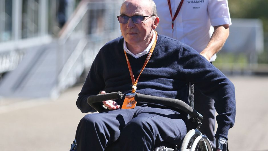 Frank Williams, Williams, Spa-Francorchamps, 2016