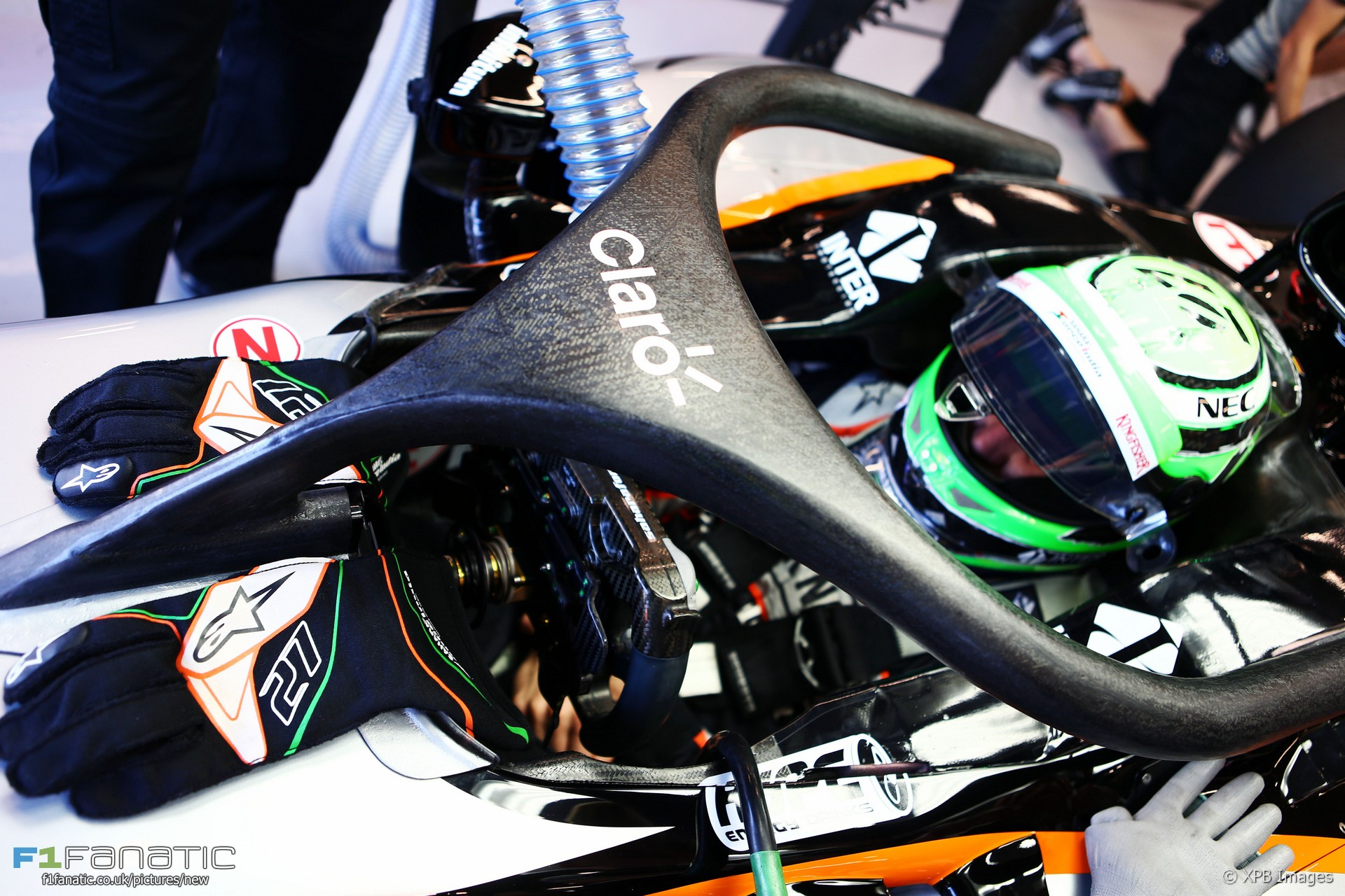 Nico Hulkenberg, Force India, Spa-Francorchamps, 2016