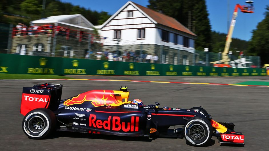 Verstappen leads Red Bull one-two in second practice