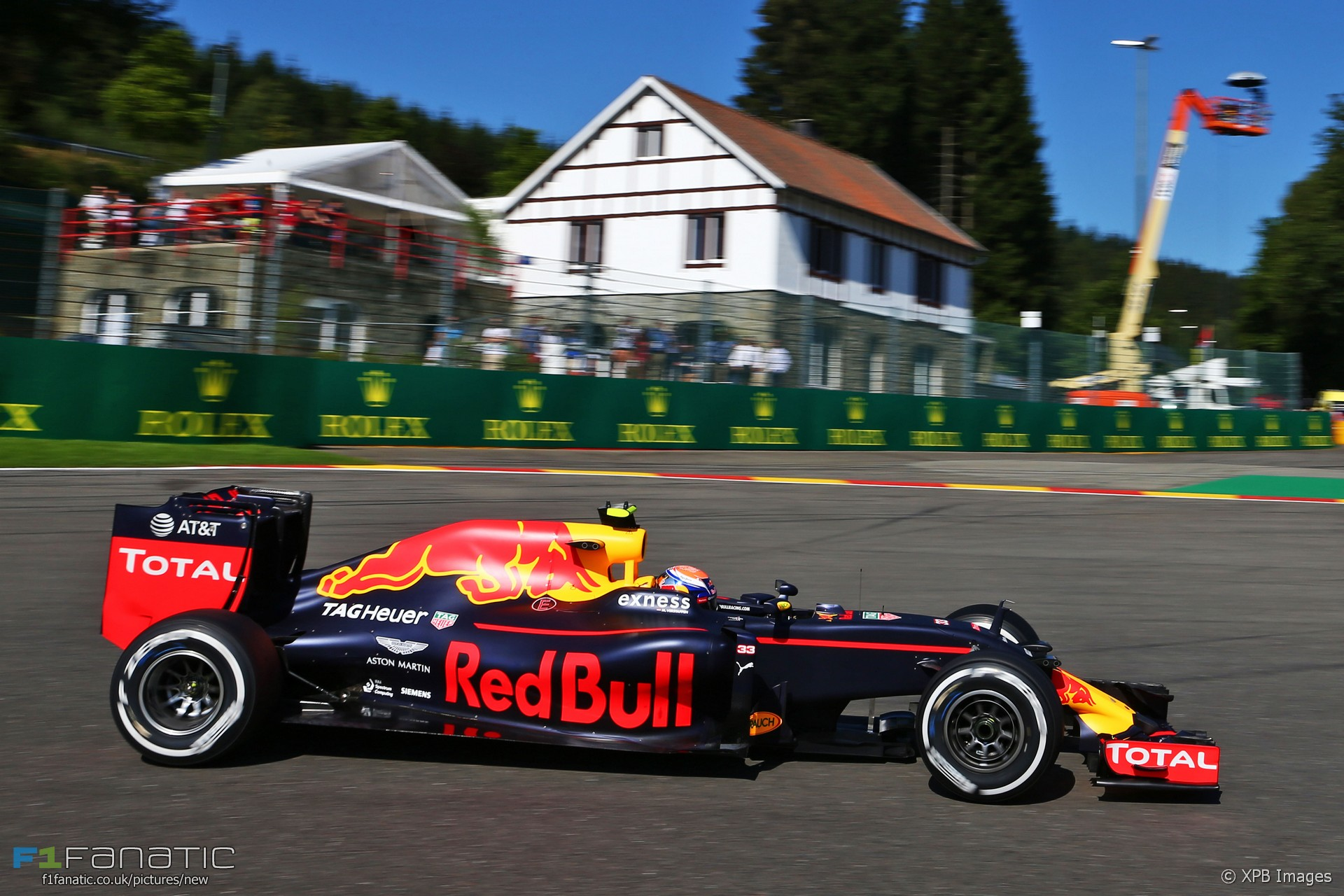 Verstappen leads Red Bull one-two in second practice · F1 Fanatic