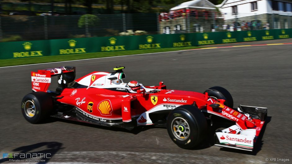 Raikkonen 'disappointed' after missing pole