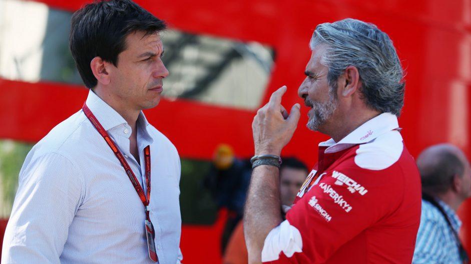 Ecclestone continues to claim Mercedes helped Ferrari
