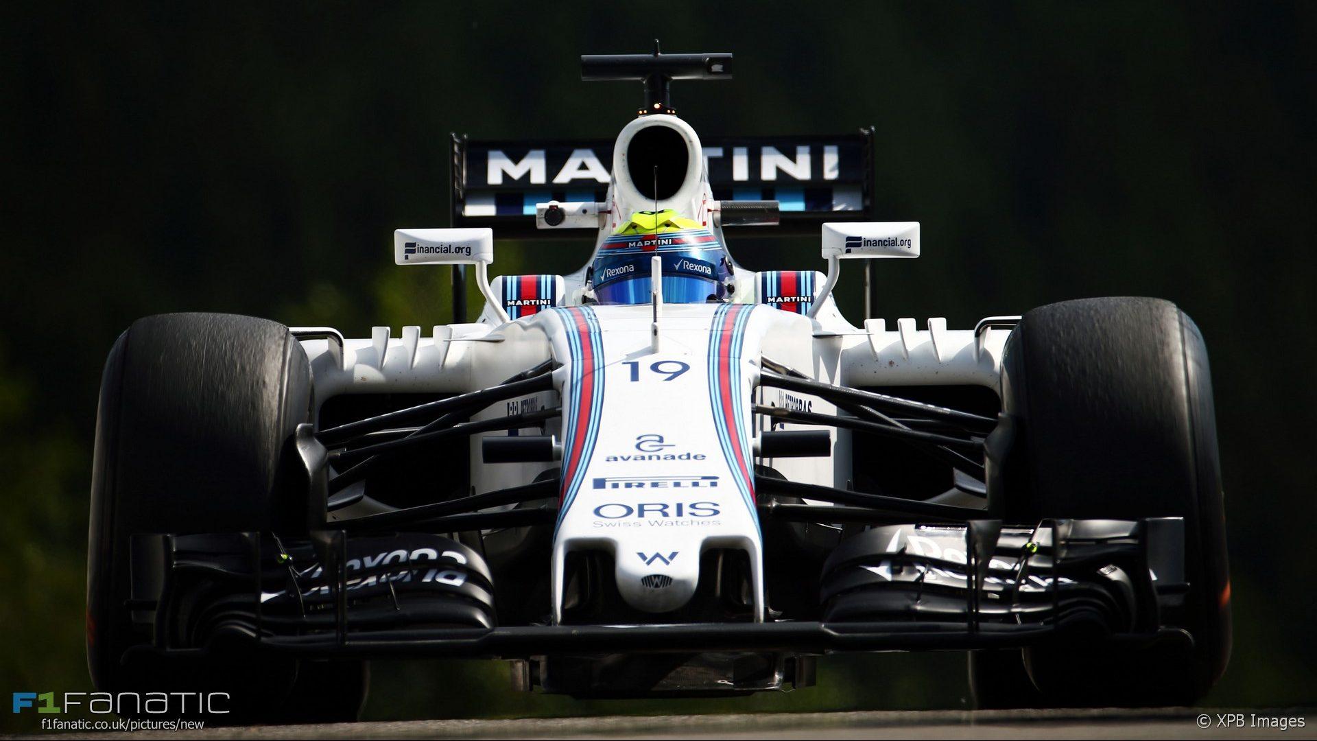 Felipe Massa, Williams, Spa-Francorchamps, 2016