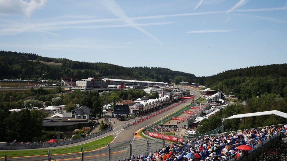 2016 Belgian Grand Prix practice in pictures