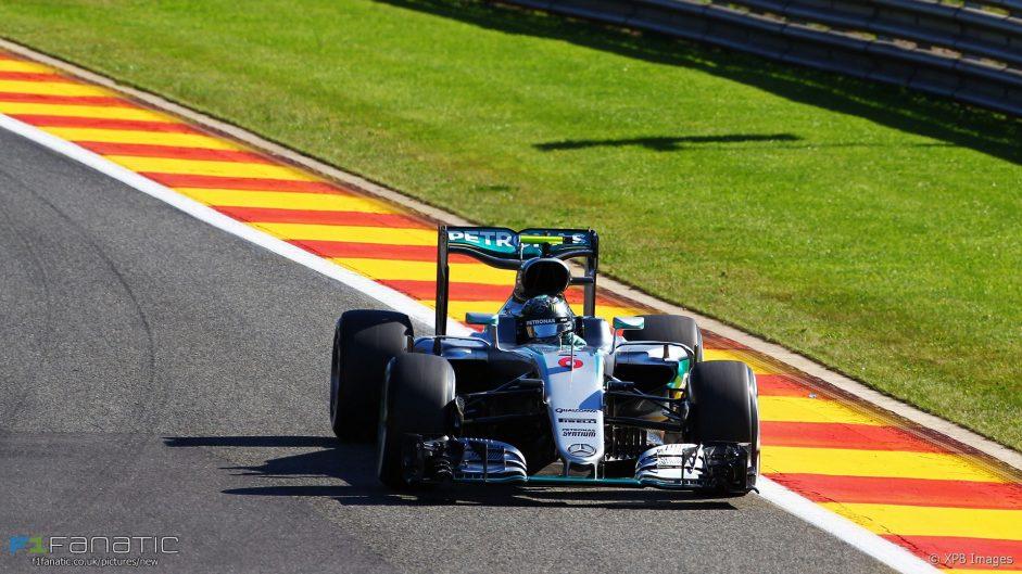 Rosberg beats Verstappen to pole in Spa