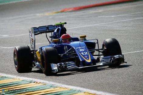 Felipe Nasr, Sauber, Spa-Francorchamps, 2016