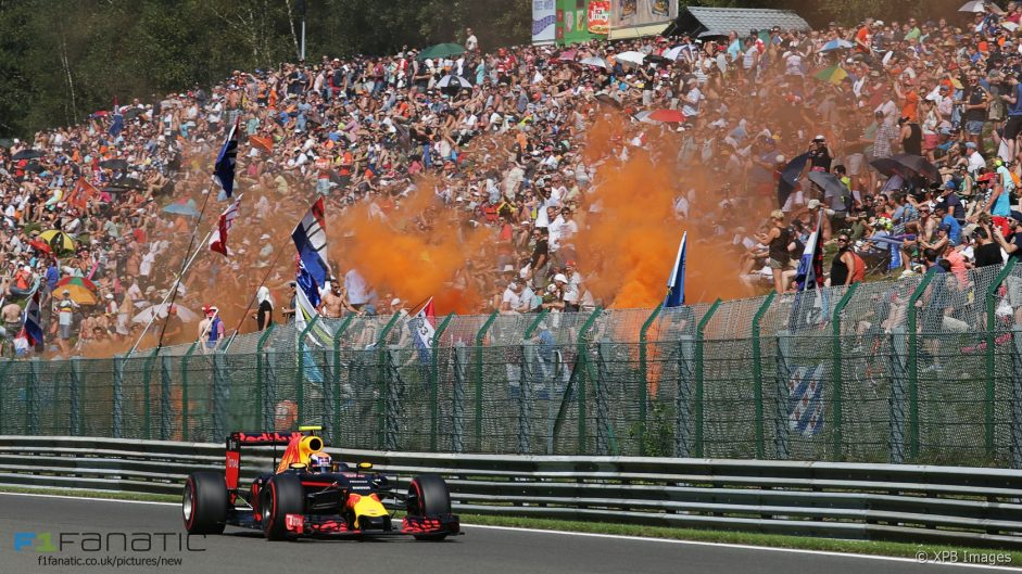 Max Verstappen, Red Bull, Spa-Francorchamps, 2016