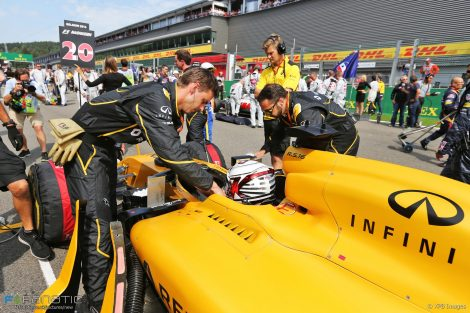 Kevin Magnussen, Renault, Spa-Francorchamps, 2016