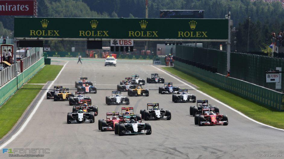 2016 Belgian Grand Prix driver ratings