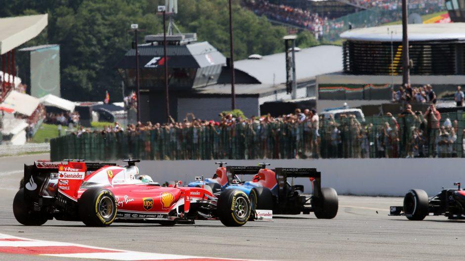 Sebastian Vettel, Ferrari, Spa-Francorchamps, 2016
