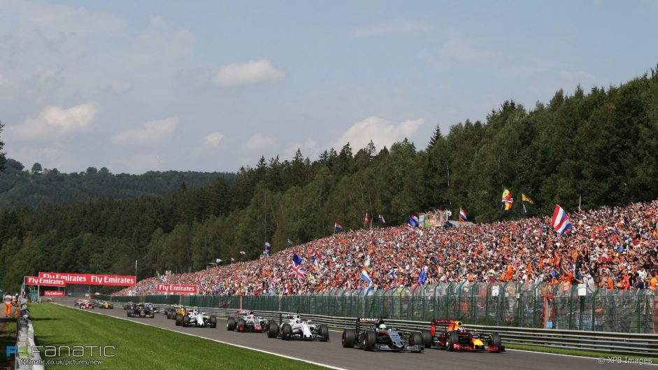 Rate the race: 2016 Belgian Grand Prix