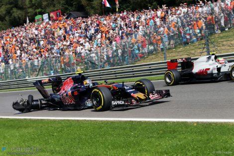 Carlos Sainz Jnr, Toro Rosso, Spa-Francorchamps, 2016