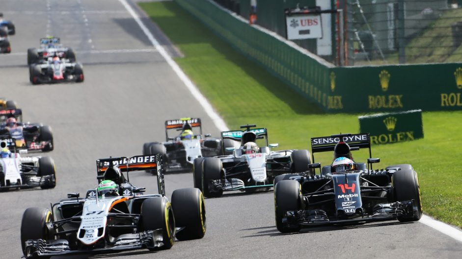 2016 Belgian Grand Prix championship points
