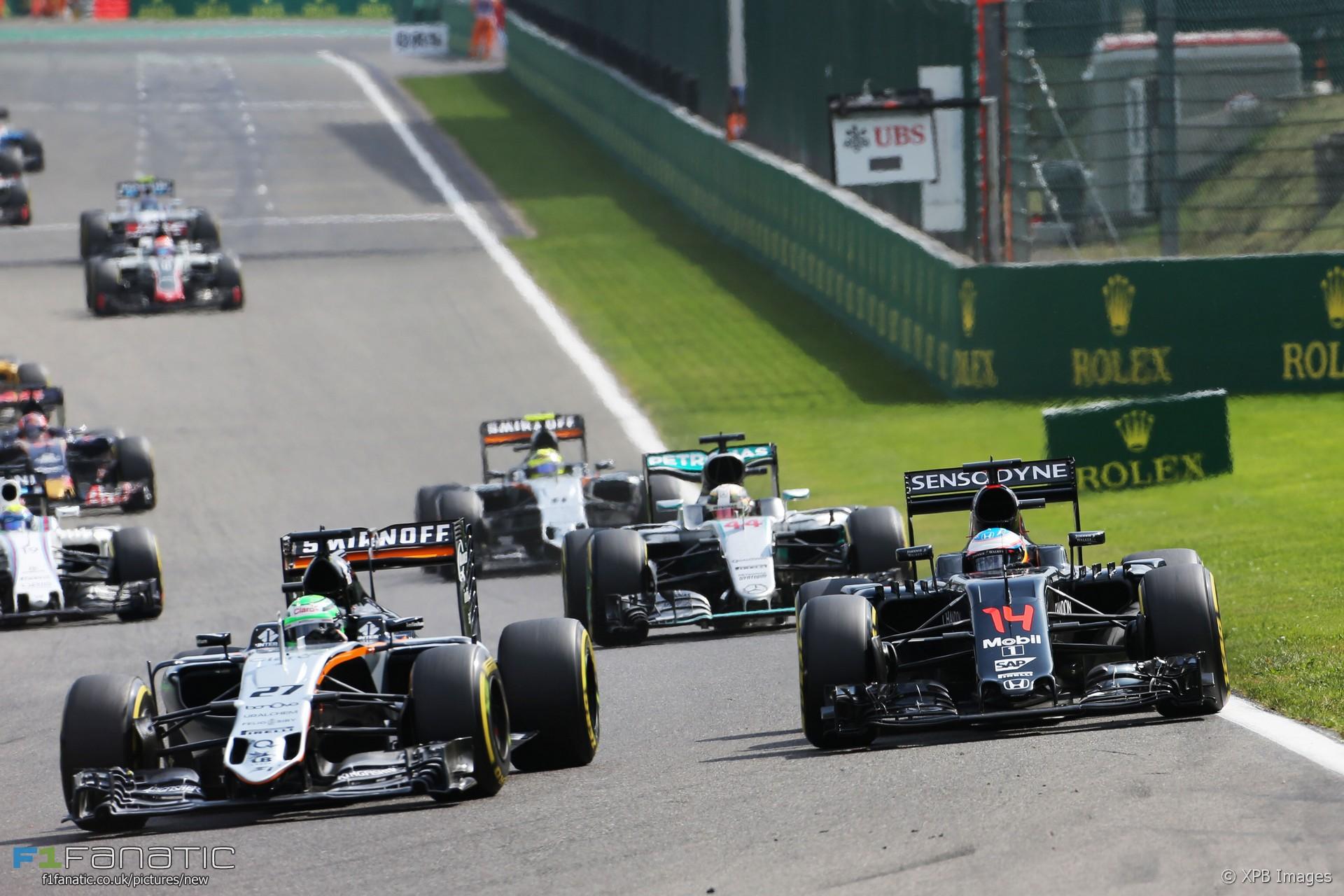 Nico Hulkenberg, Force India, Spa-Francorchamps, 2016